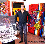 ZARUM Painting by ZARUM-Artist Zarum his art music album and more-art-artists-paintings-artworks-songs-sculptures-photos-canadian-netherlands-spain