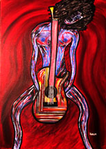 Making Music 70 x 50cm